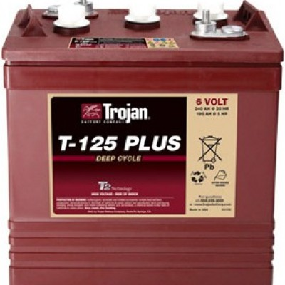 T-125Plus电池